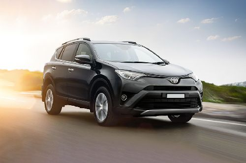RAV4 Front angle low view