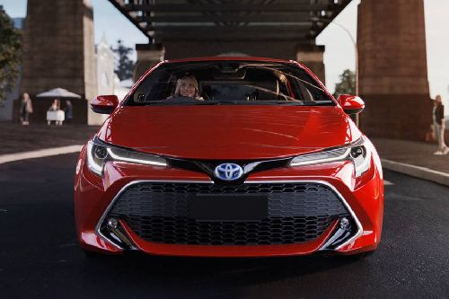 Full Front View of Corolla Hatchback