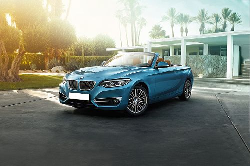 2 Series Convertible Front angle low view